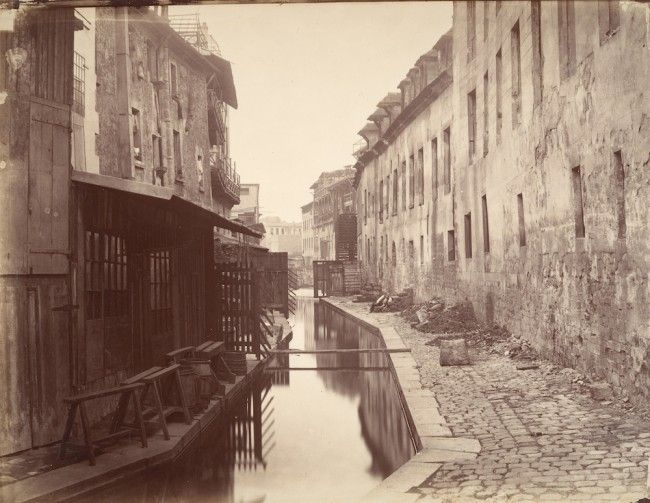 Bièvre rivier in 1862, Parijs  - © The Metropolitan Museum of Art