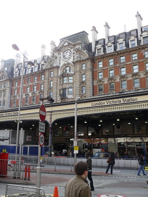 London Victoria Station This is an awesome train station...