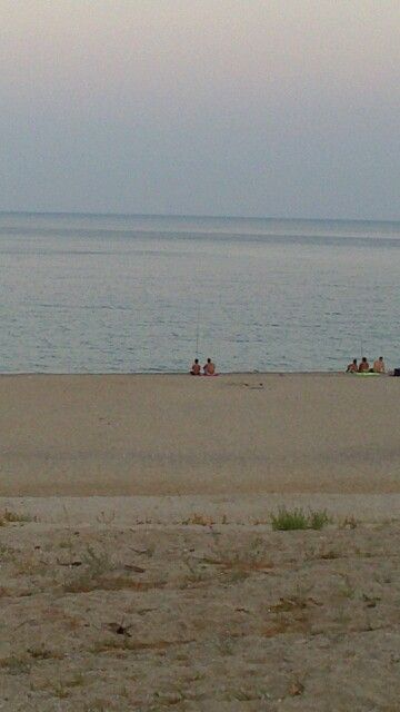 On the beach :-D