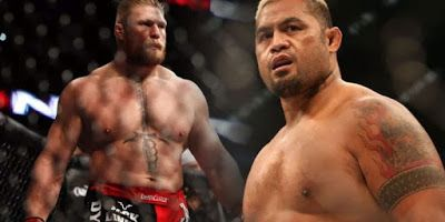Brock Lesnar vs Mark Hunt in the co-feature UFC 200