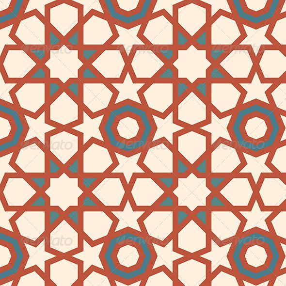 GraphicRiver Arabesque Seamless Pattern 4719115