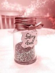 Fairy Dust sprinkle around bed to keep away monsters