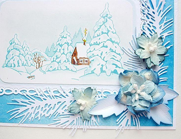 Скрап-флористика, Рождественская открытка : Статьи : Скрапбукинг - единый…