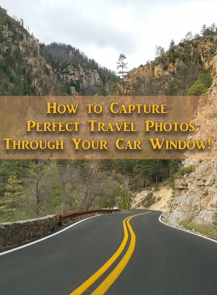 """There's more than just """"Point and Shoot"""" when it comes to taking perfect travel photos through the window of a moving car. Here's some of my favorite tips that I've learned over the years. (This photo was taken on Highway 89 in Arizona north of Sedona)"""