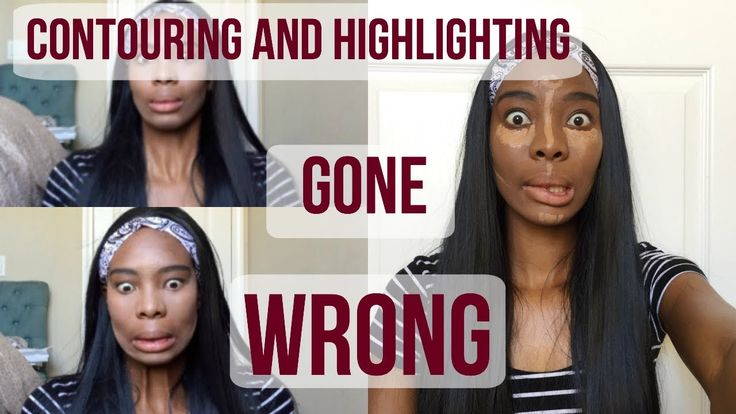 Contouring and Highlighting Gone WRONG!