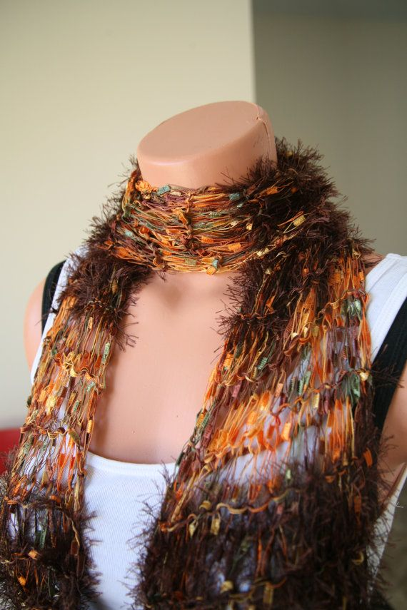 17 Best images about Novelty scarves - knit or crochet on Pinterest Free pa...