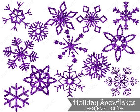 Glitter Snowflake Clipart Purple Glitter Snowflakes Commercial Use Purple Snowflakes Uz855 Sno Bunny Monogram Svg Easter Bunny Monogram Snowflake Clipart