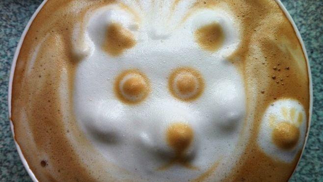 Kahve Sanatı - Yaratıcı Resim Yapımı - Fincanda kolaylıkla inanılmaz resim çizimi