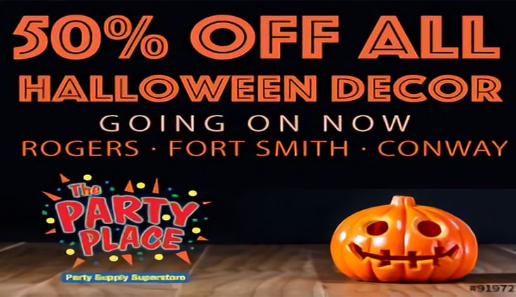 t's almost HALLOWEEN! The Party Place is your local year-round party supply super store for EVERYTHING you need! Check THIS out! #ThePartyPlace #Halloween