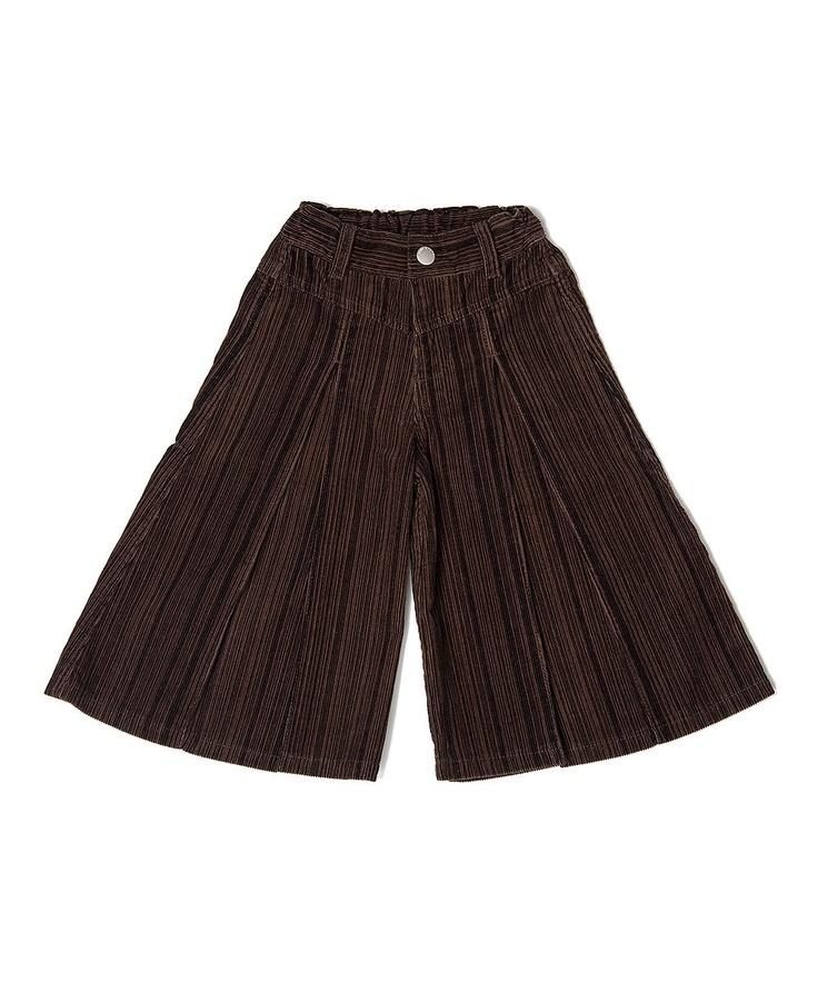 Chocolate Mollie Gaucho Pants