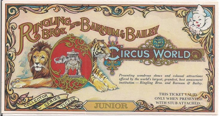Ringling Bros. and Barnum and Bailey Circus tickets on ...