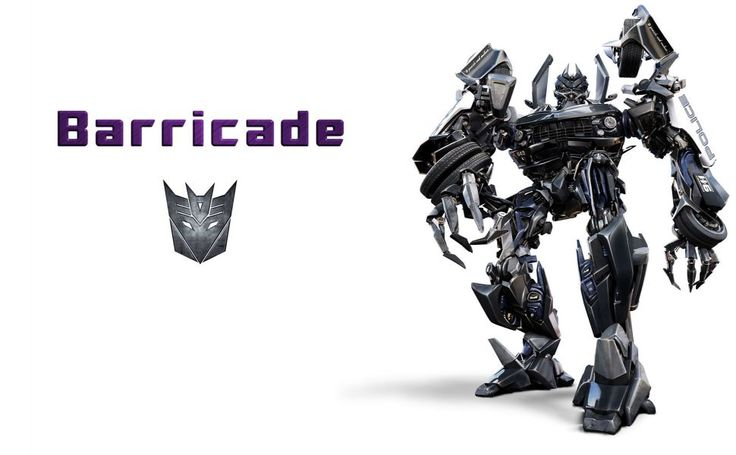 Transformers Barricade HD Wallpaper
