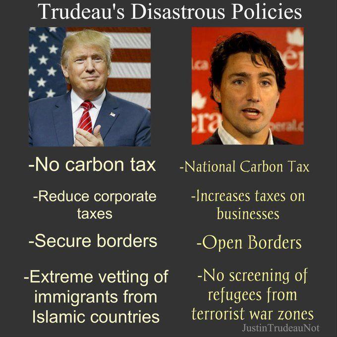 Trudeau, what an idiot!