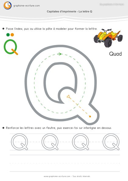 Écriture MS Capitales d'imprimerie arrondies ou Oves – C O Q G S. Apprendre à écrire en Moyenne Section. Feuille d'écriture CAPITALE S, O, Q, G, S.