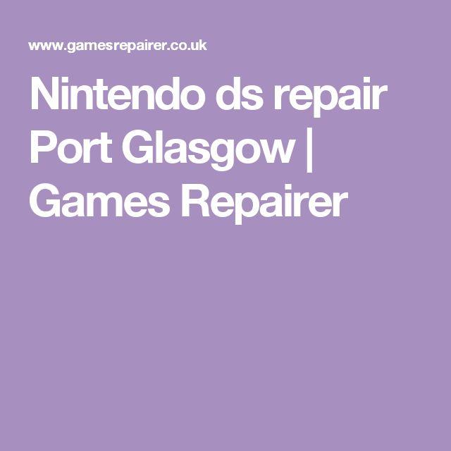 Nintendo ds repair Port Glasgow | Games Repairer