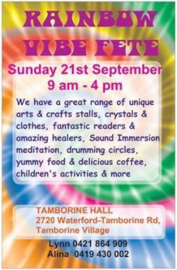 Tarotopia will be attending this event with a range of Tarot and Oracle products. Whilst your there enjoy the festivities of the day at the base of Mt Tamborine on the southside of Brisbane.