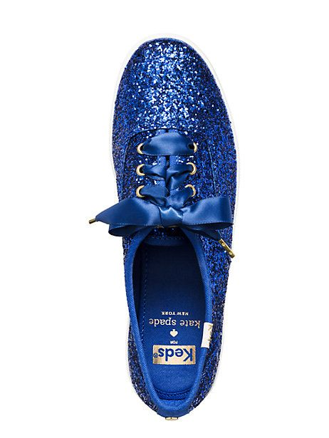 keds for kate spade new york glitter sneakers | Kate Spade New York --- This color is AMAZING.