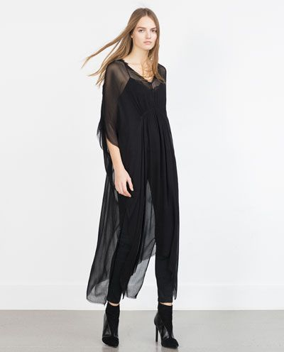 Image 1 of LOOSE-FIT TUNIC from Zara