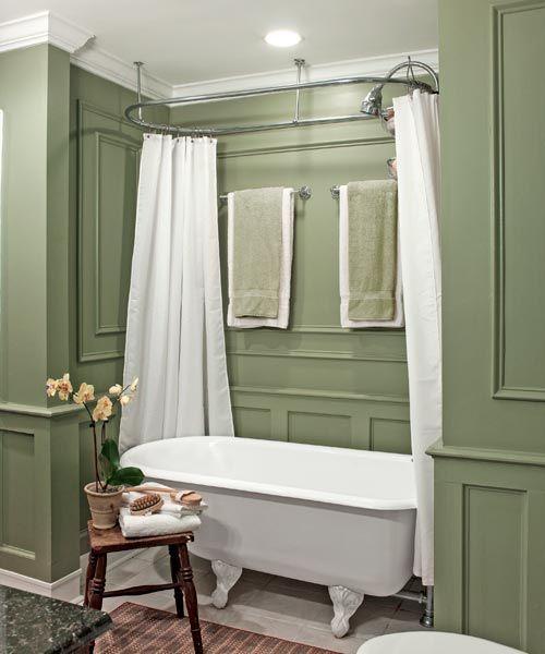 Clawfoot Tub Bathroom Designs Gorgeous 193 Best Love Clawfoot Tubs Images On Pinterest  Bathroom Inspiration
