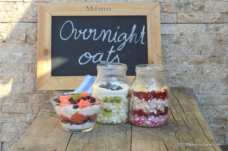 Retete de overnight oats la borcan savori urbane