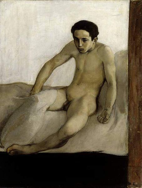 "Magnus Enckell - ""The Awakening"" 1894"