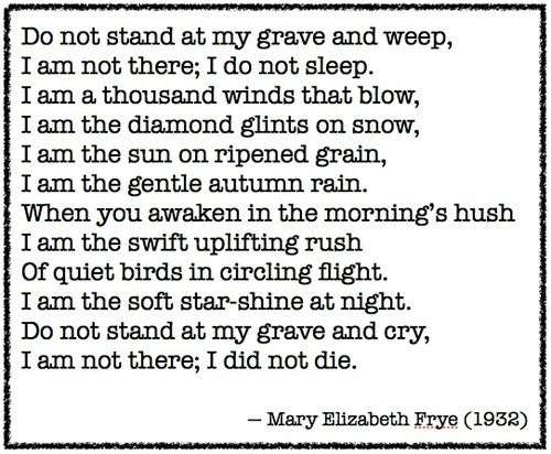 mary elizabeth frye poems pdf