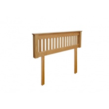 Canterbury Solid Oak MNH50 4FT 6IN (Double) Headboard