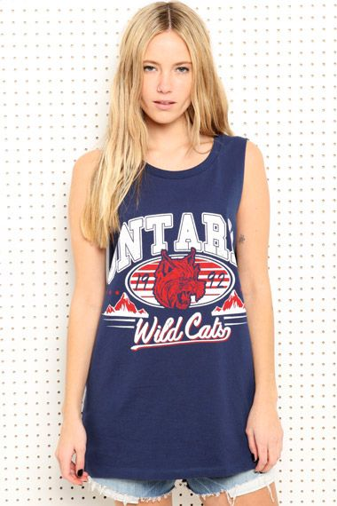 Ontario Sports Tank at Urban Outfitters
