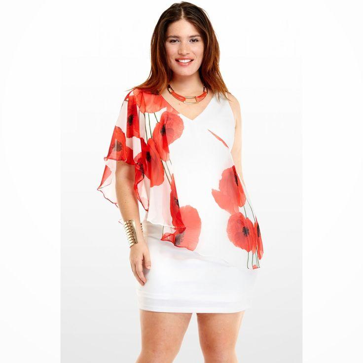 Excelentes vestidos de cóctel para gorditas | Moda 2014