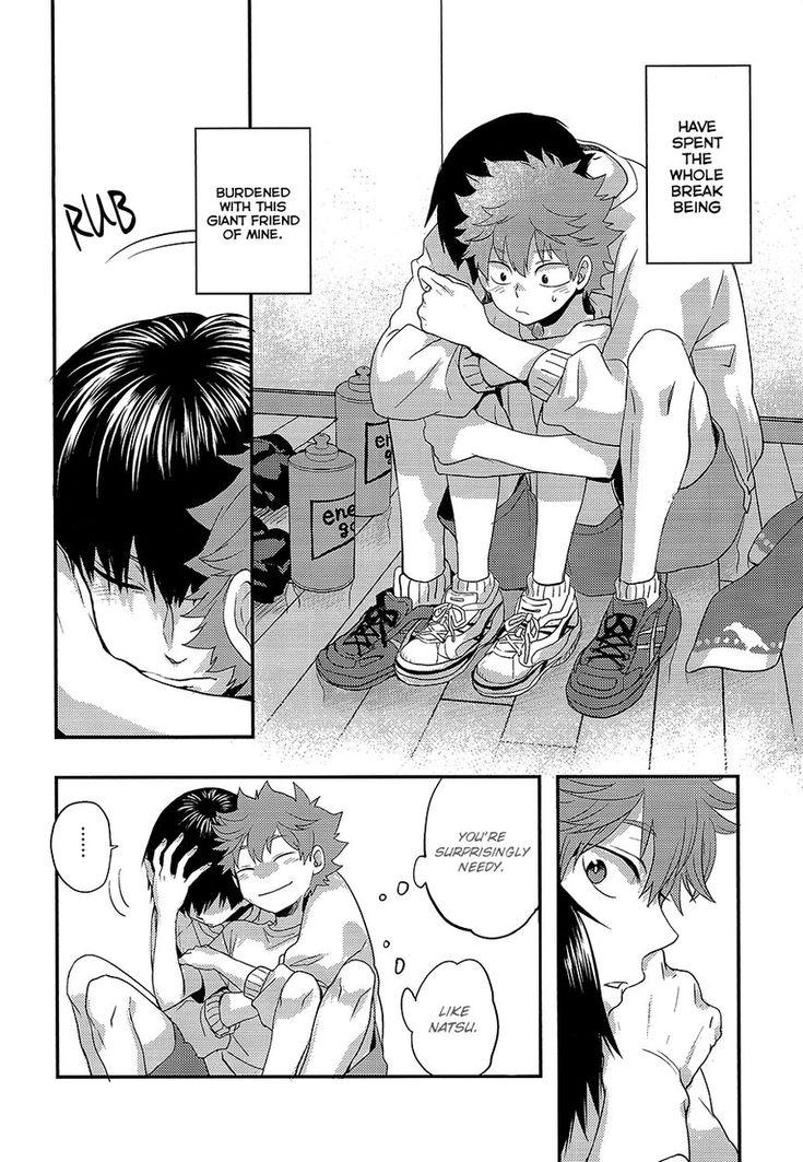 Haikyu!! dj - Hatsukoi Trigger 1 Page 27