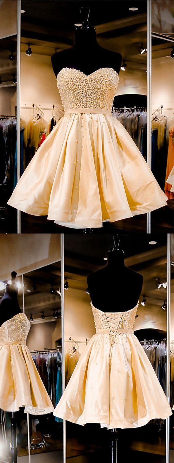 2016 homecoming dress,sleeveless homecoming dress,short homecoming dress,champagne homecoming dress ,homecoming dress with beading