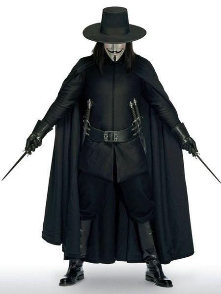 V for Vendetta Halloween Cosplay Costume