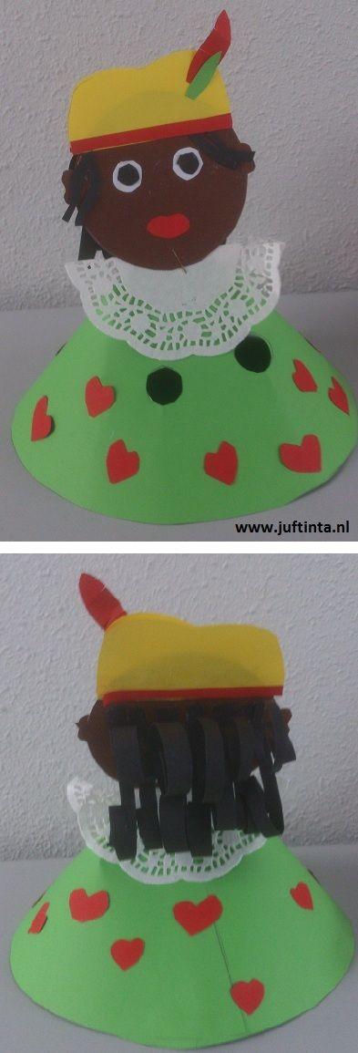Zwarte Piet knutselwerkje