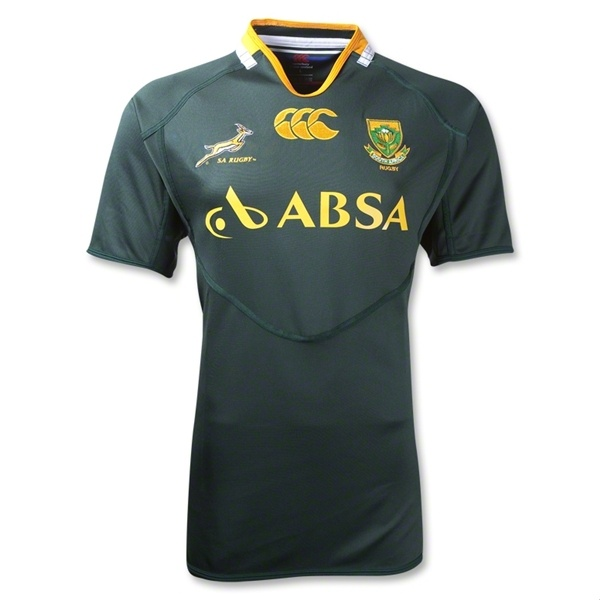 South Africa Springboks Pro 11/12 Home Rugby Jersey