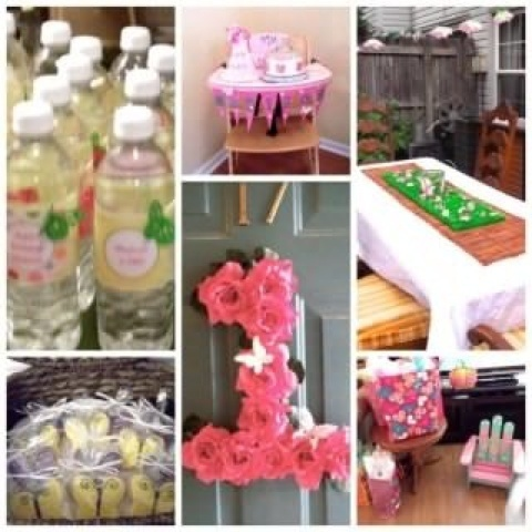 58 best erfly Garden Theme Birthday Party images on Pinterest ...