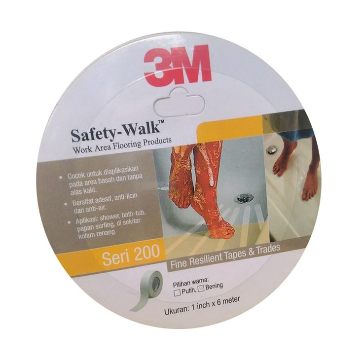3M 220 Safety Walk Clear (Tape Anti Licin Transparan) - 1 in X 20 ft (6 meter) - Anti Slip Kuat & Terbaik dg Harga Murah  3M 220 Safety Walk Clear (Transparan) - 1 in X 20 ft (6 meter). - Tape/Stiker anti slip yang cocok untuk penggunaan pada area basah dan tanpa alas kaki - Sebagai pencegah bahaya terpeleset - Anti Air. http://tigaem.com/perawatan-gedung/1717-3m-220-safety-walk-clear-tape-anti-licin-transparan-1-in-x-20-ft-6-meter-anti-slip-kuat-terbaik-dg-harga-murah.html  #safetywalk…