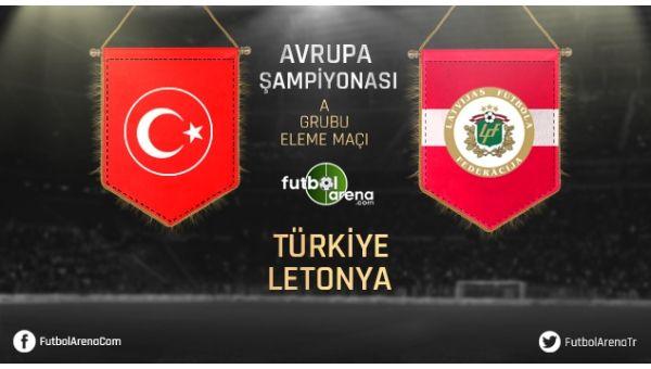 Türkiye Letonya Maçı Özeti ve Golleri