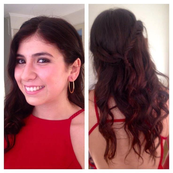 Meicap & Hair a Francisca Ulloa para el día de su graduación