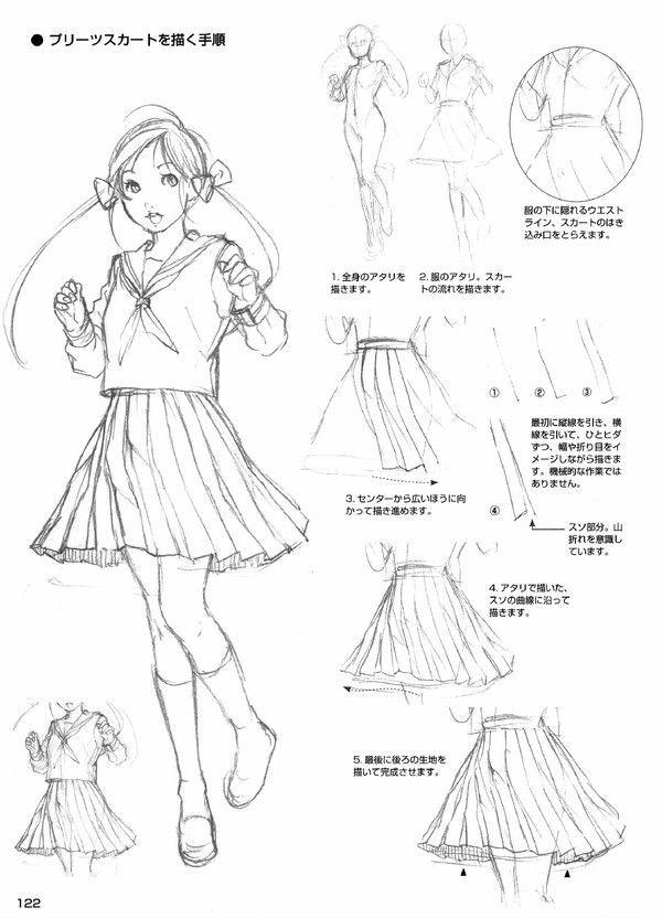 school uniform lessons pinterest tipps f rs zeichnen zeichen und tipps. Black Bedroom Furniture Sets. Home Design Ideas