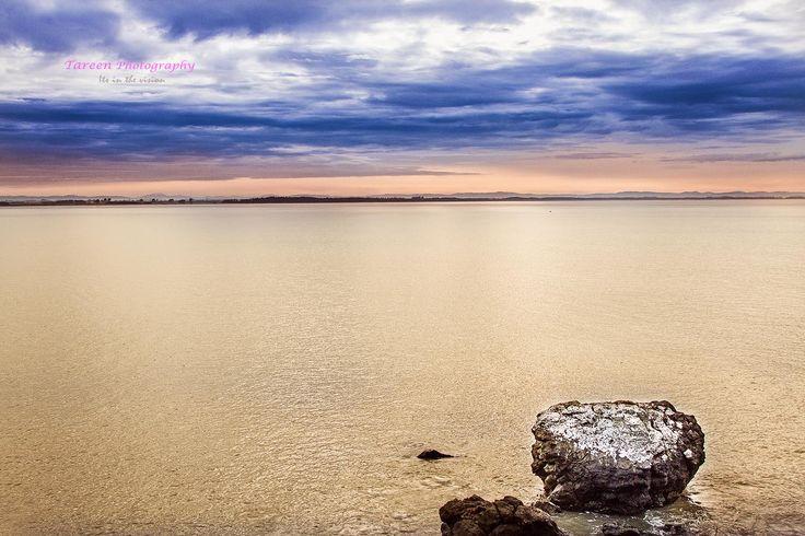 Beautiful Riverton beach on a stunning Southland day