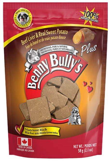 Benny Bully's Beef Liver & Real Sweet Potato 58g