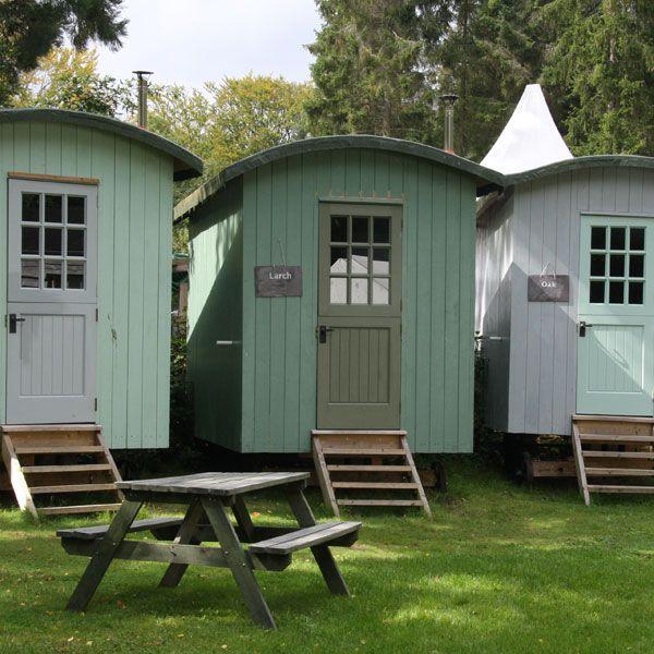 Shepherd Hut Floor Plans: The Shepherd's Huts Are Located Around The Edge Of The