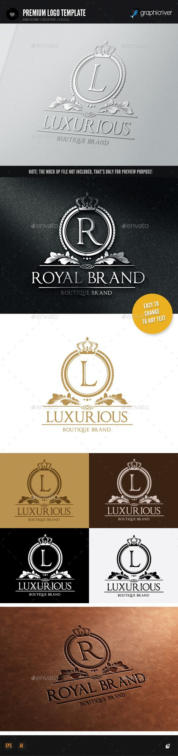 Luxurious Brand Template #design Download: http://graphicriver.net/item/luxurious-brand/9846671?ref=ksioks