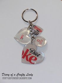 Diary of a Crafty Lady: Pop Can Key Chain