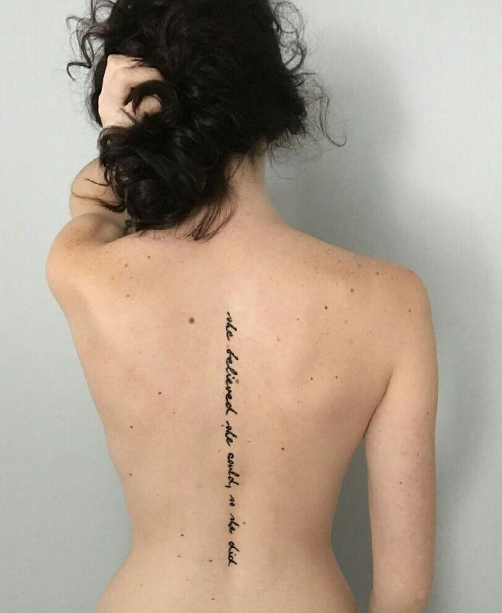 Sex after back tattoo