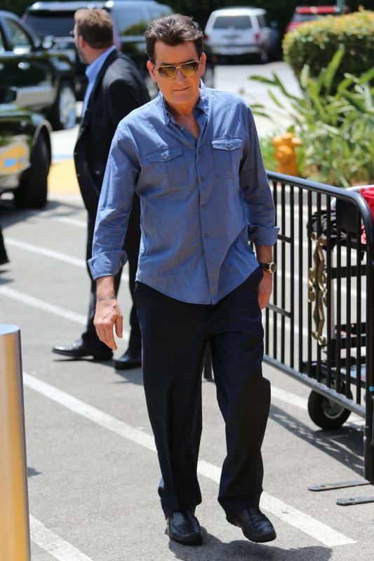 Feds order Charlie Sheen's private plane to land for drug inspection
