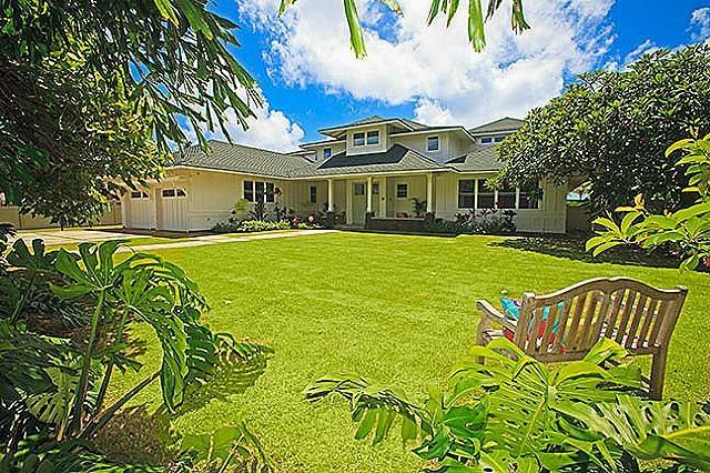 Hawaiian Plantation Style Front Homestead House Plans