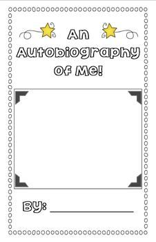 best autobiography writing ideas autobiography   a mini autobiography writing unit