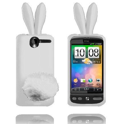 Bunny (Hvit) HTC Desire G7 Deksel