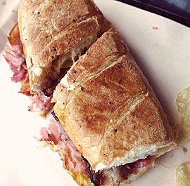 Pork Belly Cubano Sandwich
